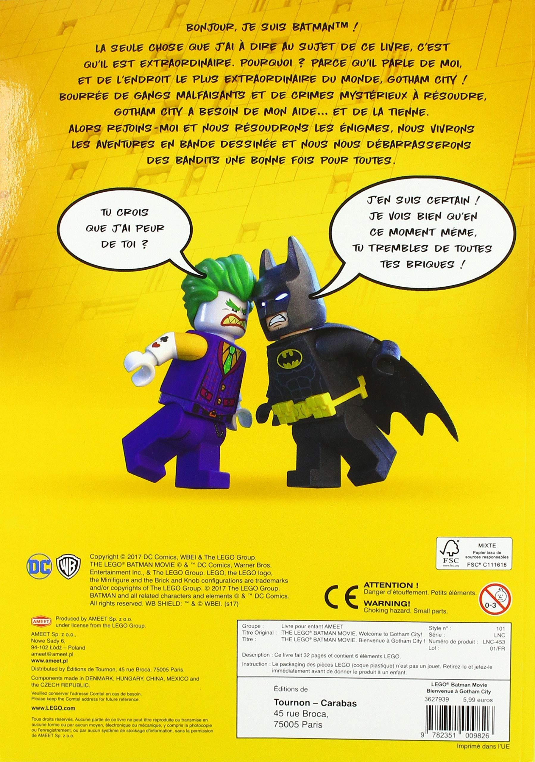 LEGO DC COMICS BIENVENUE A GOTHAM CITY: Amazon ca: COLLECTIF