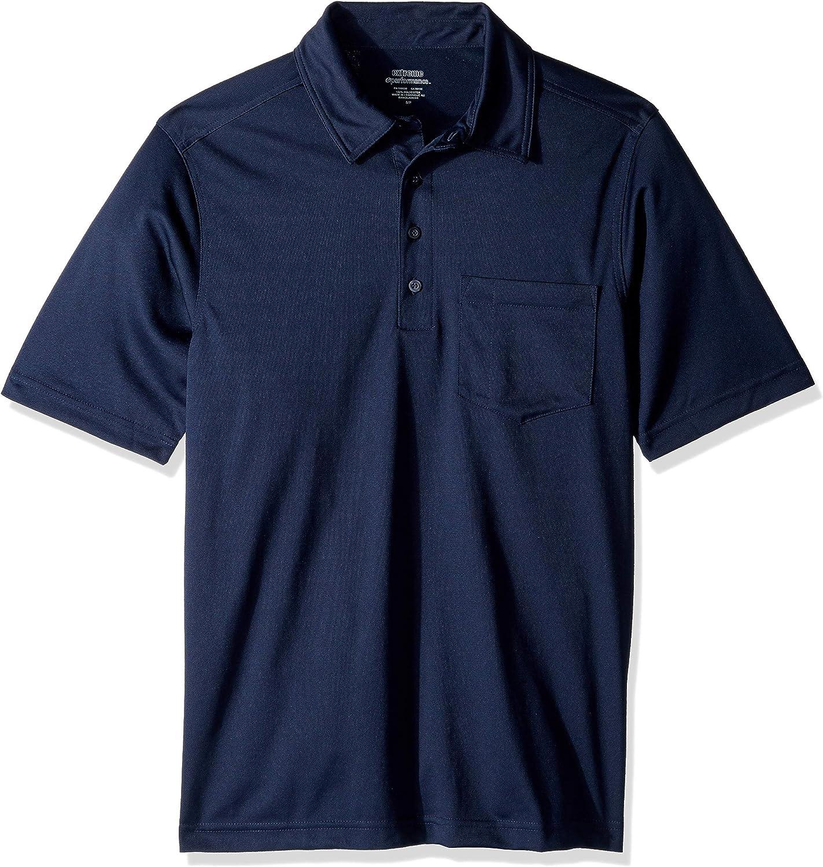 Ashe Xtream Mens Performance Shift Snag/Protection Short Sleeve Polo Shirt