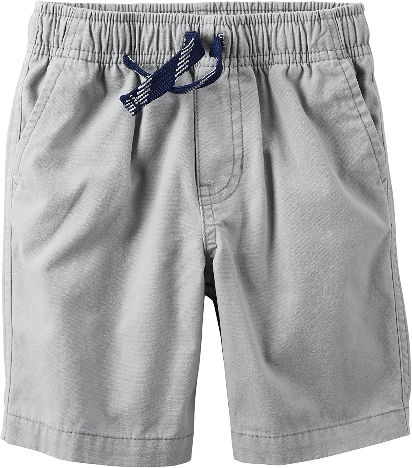 Size - 9 Months Carters Baby Boys Gray Pull-On Tie Front Shorts