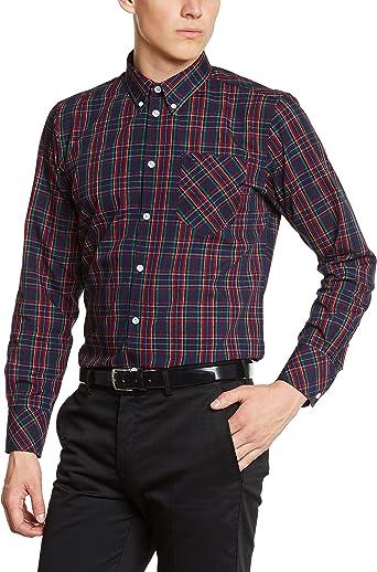 Merc of London Camisa para Hombre: Amazon.es: Ropa y accesorios