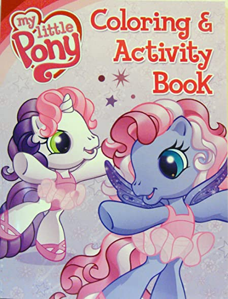 My Little Pony Coloring Book And Activity 4