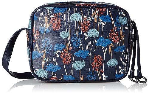 Womens Mit Praktischem Innenleben Bag, Blue (400 Navy), 7x15x19 cm (b x h x t) Esprit