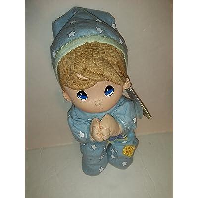 """10"""" Tall - Precious Moments Prayer Pal - Boy in Pajamas: Toys & Games"""
