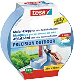 TESA 56251 - masking tapes (Painters masking tape, Interior y exterior, Azul, Papel, Vidrio, Áspero, Alise)