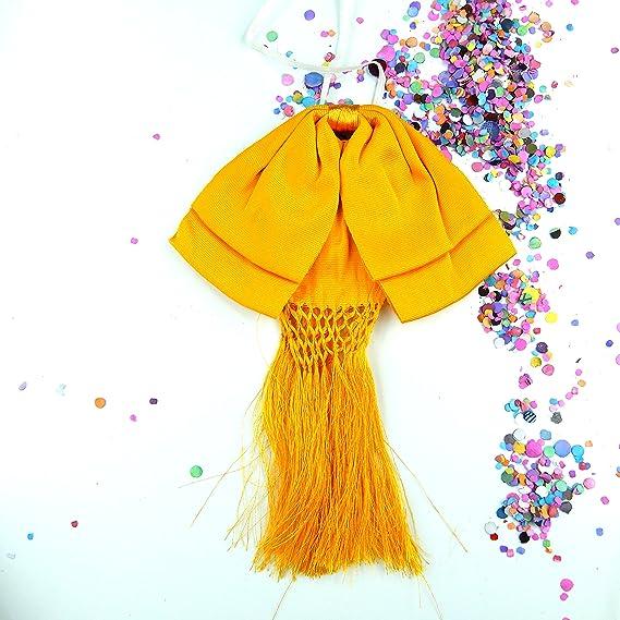 Desconocido Pajarita mexicana amarilla elástica – casi color ...