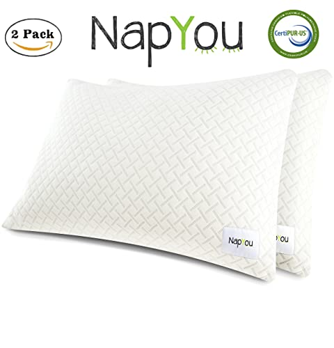 TWO NapYou Queen Pillows