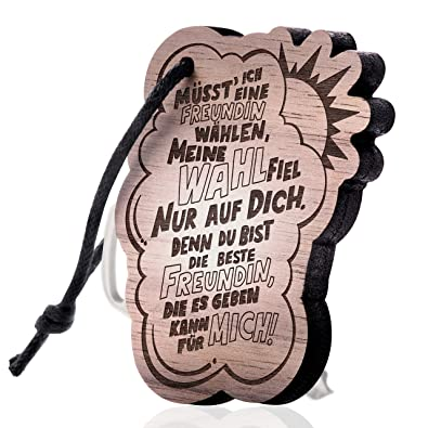 schenkYOU® Llavero madera con grabado - El regalo para la ...