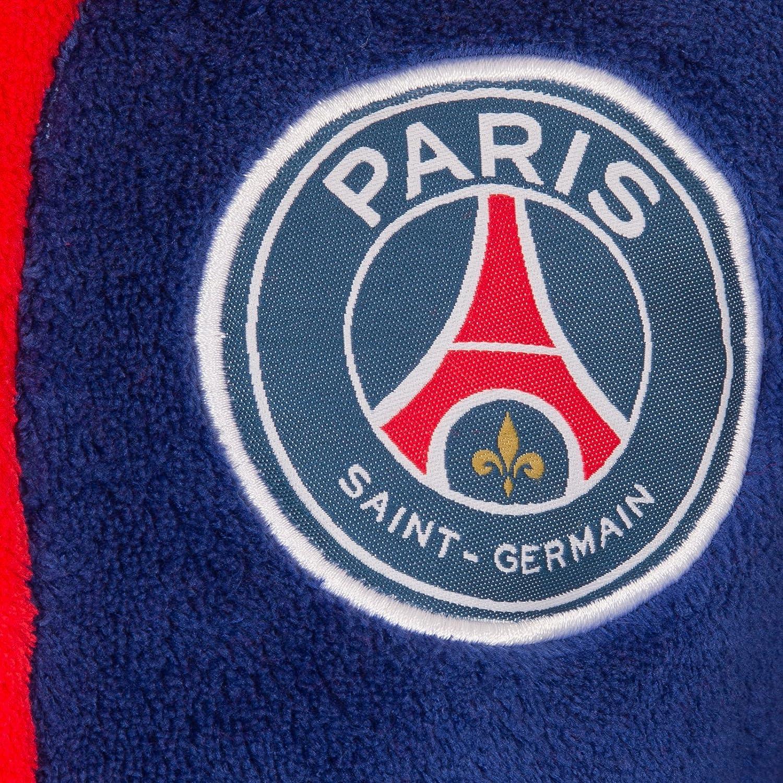 Paris Saint-Germain - Batín oficial con capucha - Para niño - Forro polar: Amazon.es: Ropa y accesorios
