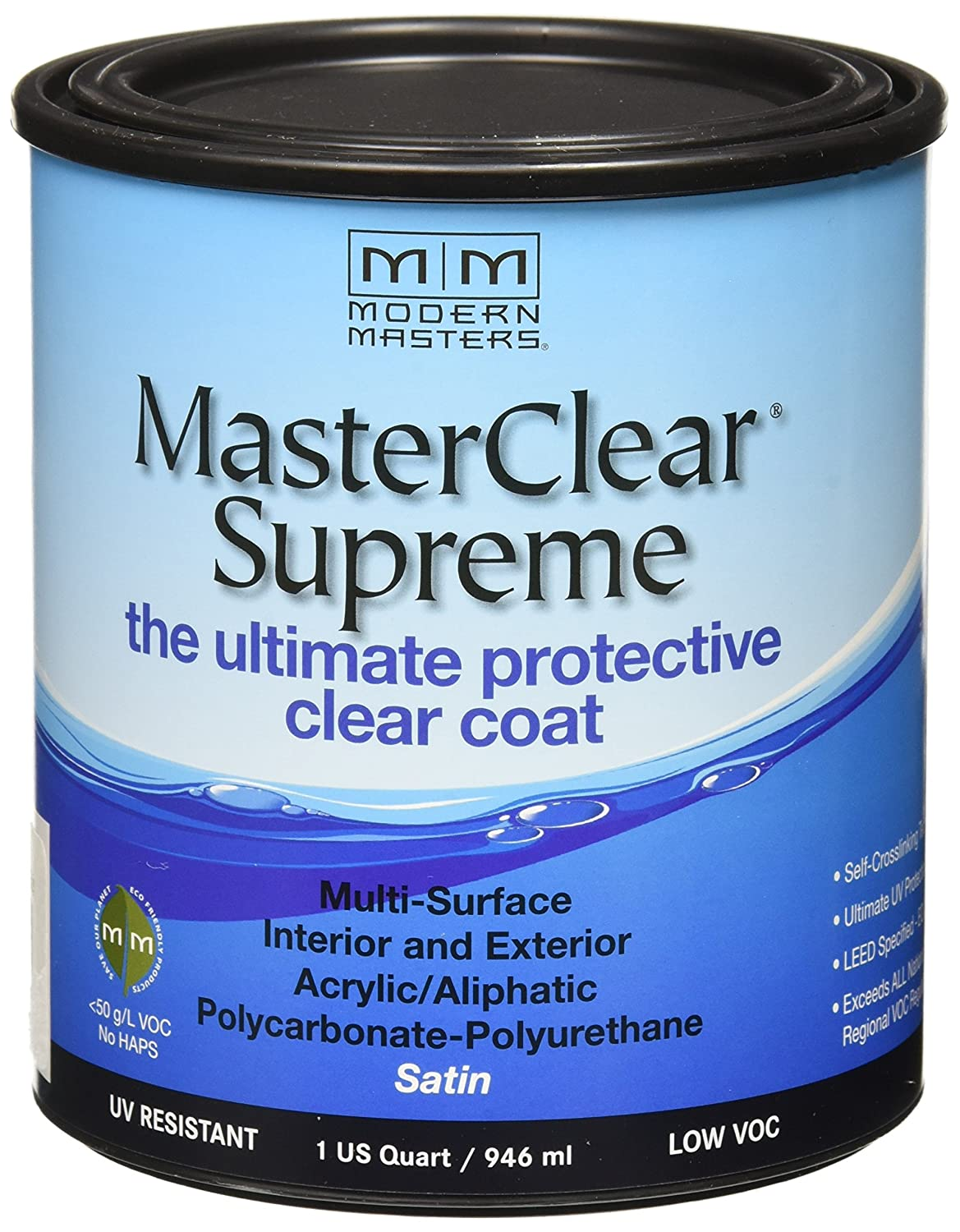 Amazon.com: MODERN MASTERS MCS90232 Clear Coat Satin: Home Improvement