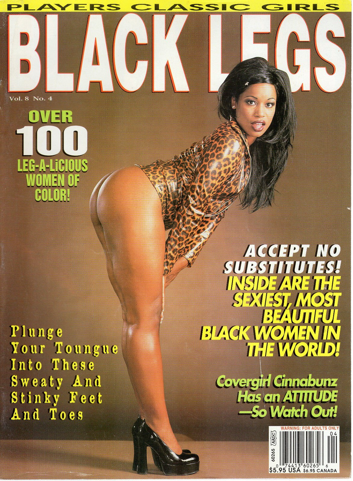 Amazon.com: Classic BLACK LEGS V8N4 YOUNG PORN STAR MARIAH ...