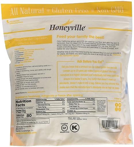 Amazon Honeyville Blanched Almond Flour Super Fine Grind