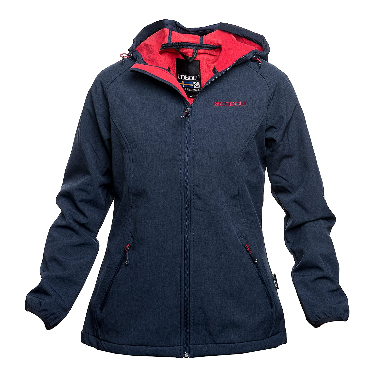 Jacketpeacotmelange42 Ladies Stocksund Ladies Cobolt Cobolt Stocksund Softshell kPXZOiuT