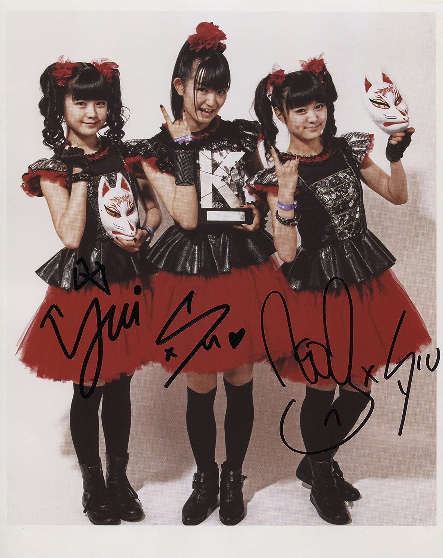 Babymetal Baby Metal SIGNED Photo 1st Generation PRINT Certificate 8