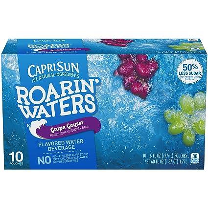 Capri Sun Roarin Aguas Flavored bolsas de bebidas, 15 Onza ...