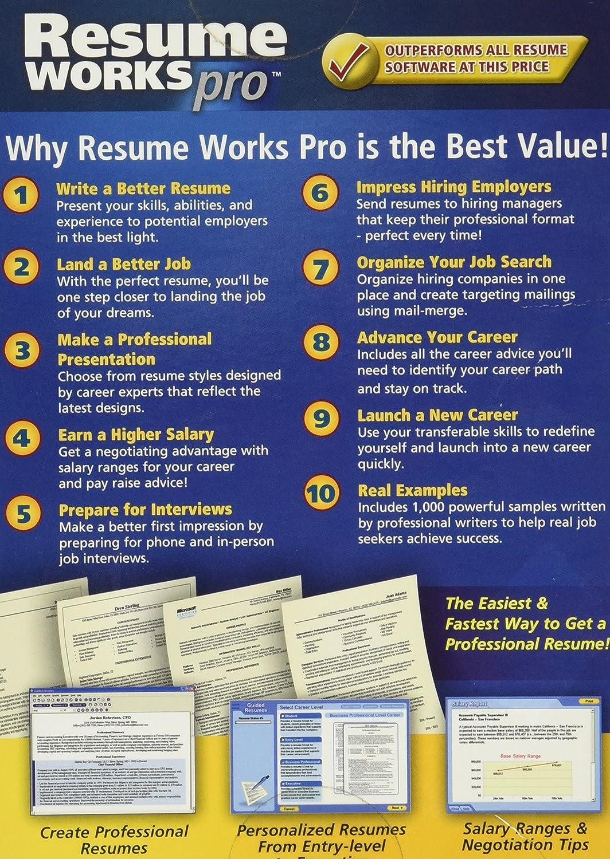 com resume works pro electronics