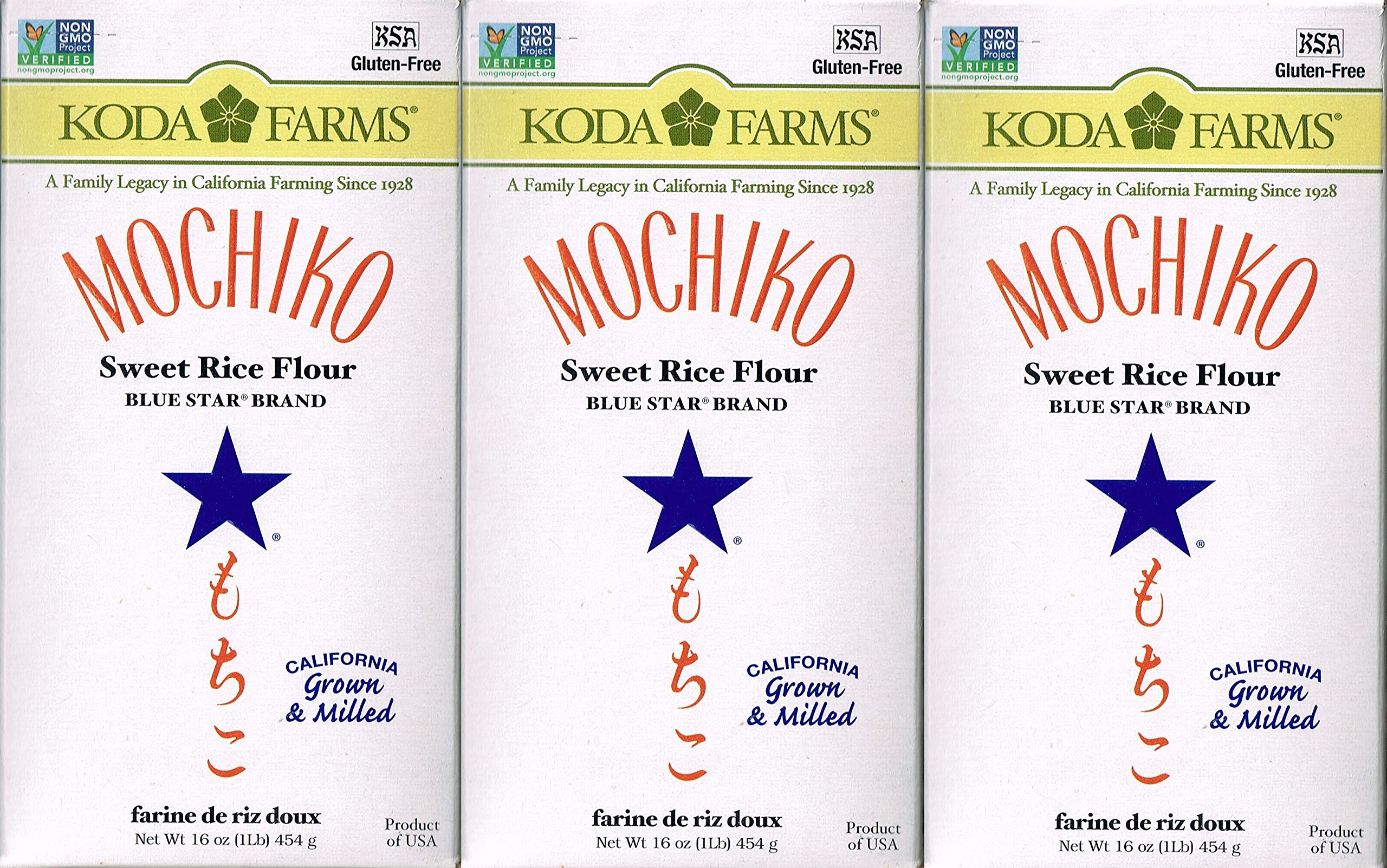 Mochiko Sweet Rice Flour (Pack of 3)