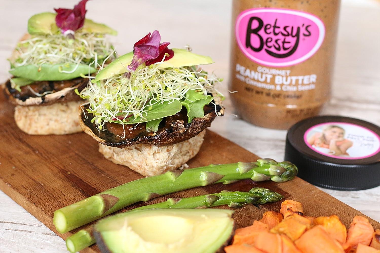 Mantequilla de maní gourmet por Betsys Best 16 oz – Libro ...
