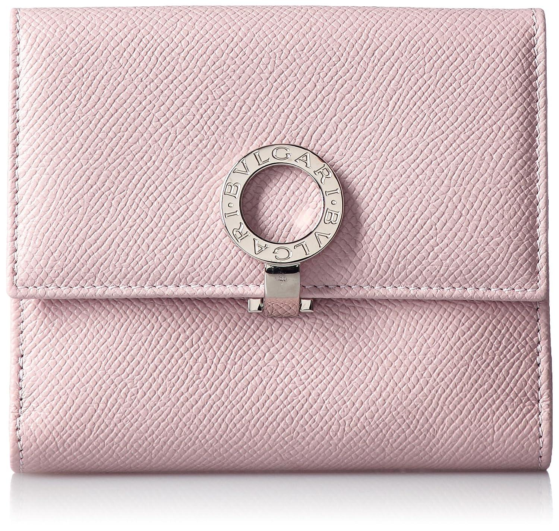 [ブルガリ] BVLGARI BVLGARI BVLGARI 二つ折り小銭入れ付き財布[並行輸入品] B017QRJNM0 ライトピンク