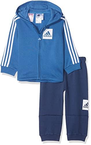 adidas I E 3S Fzhd FL Chándal, Unisex bebé, Azul (azretr/Blanco ...