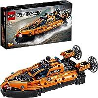 LEGO 42120 Technic Reddingshovercraft naar Vliegtuig, 2in1 Modelbouwset, Speelgoedvoertuigen voor Jongens en Meisjes 8+