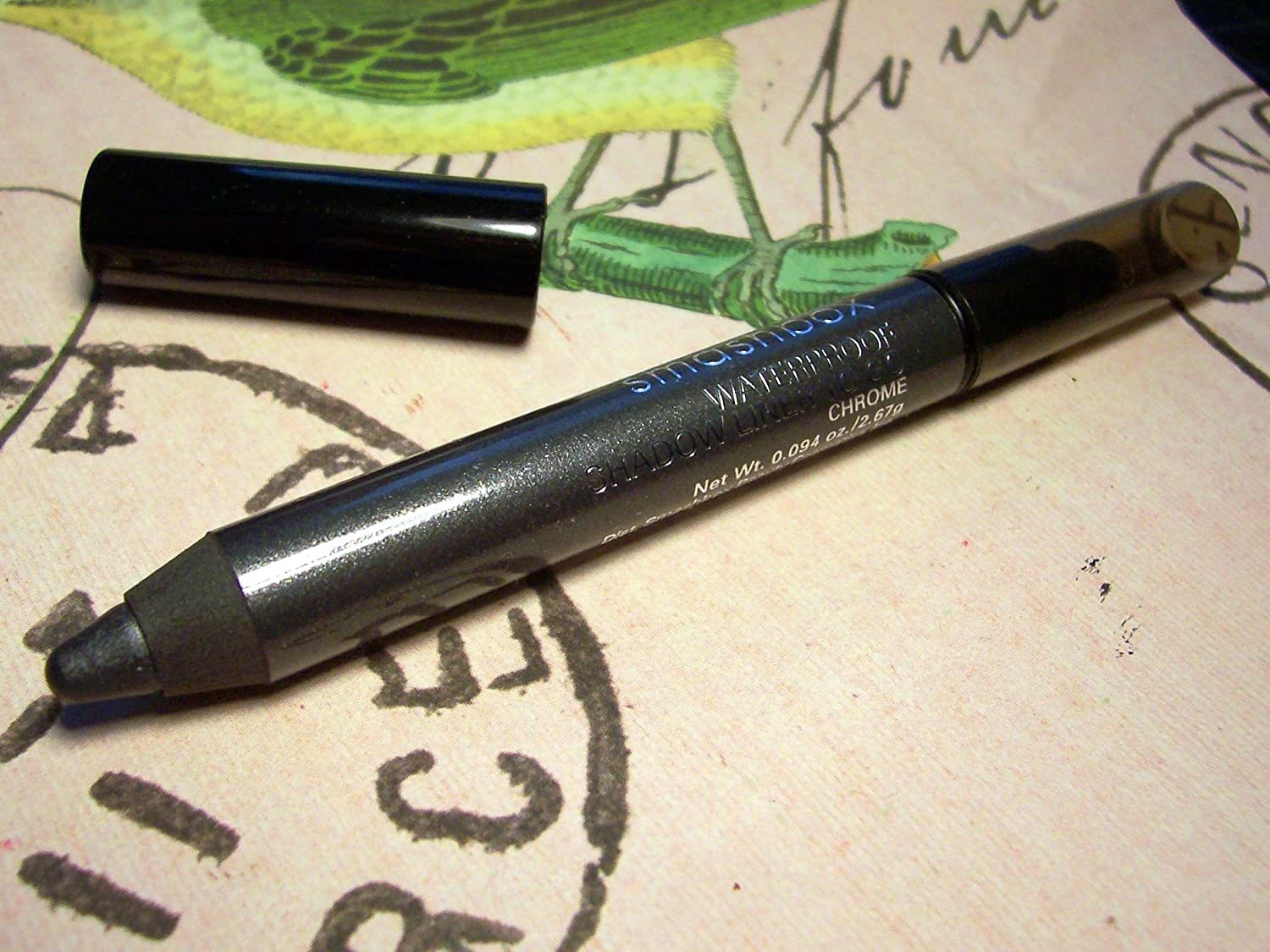 Amazon.com : SMASHBOX Waterproof Shadow Liner To Go - Chrome u/b ...