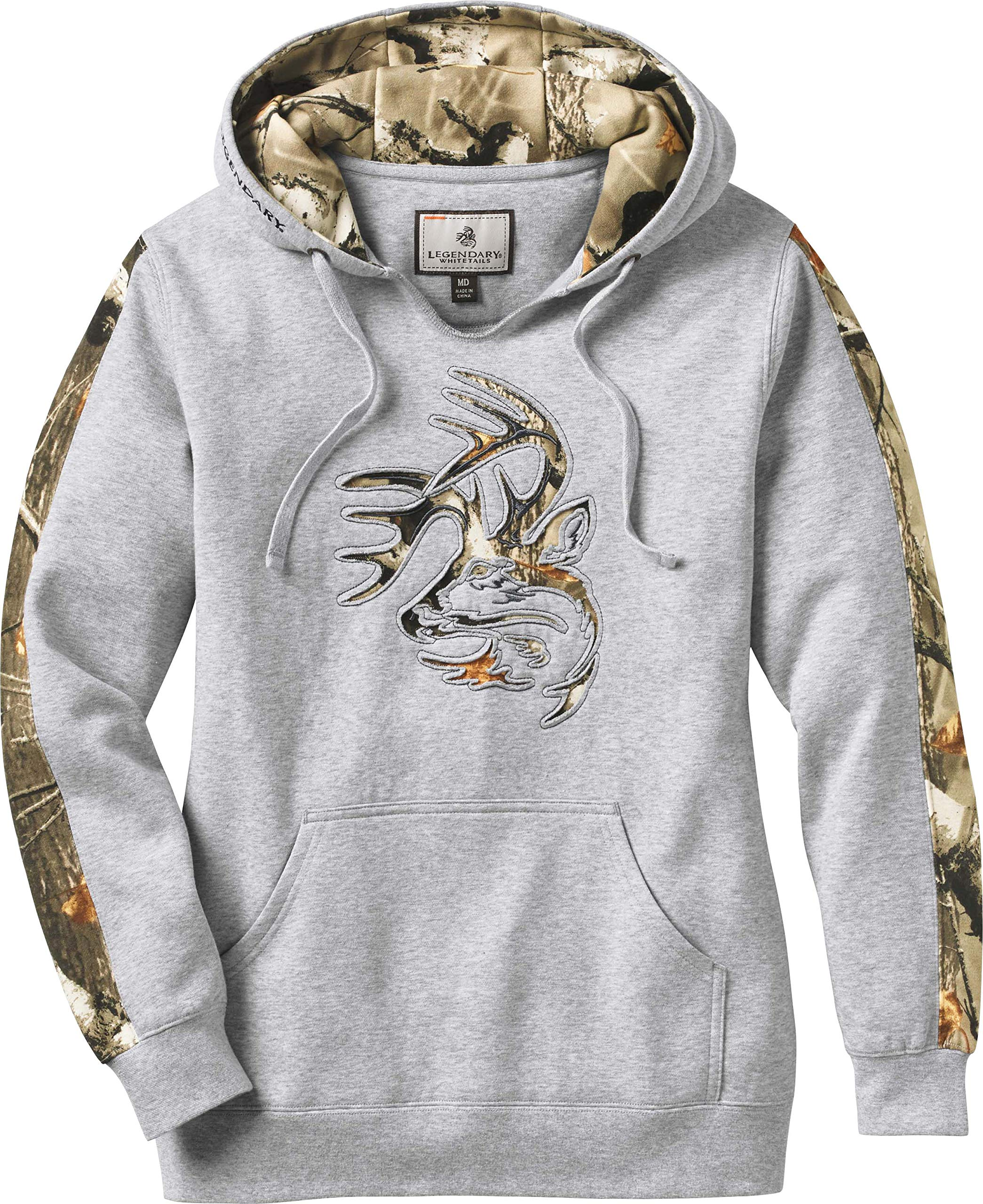 Legendary Whitetails Women's Outfitter Hoodie Athletic Heather Large by Legendary Whitetails (Image #1)