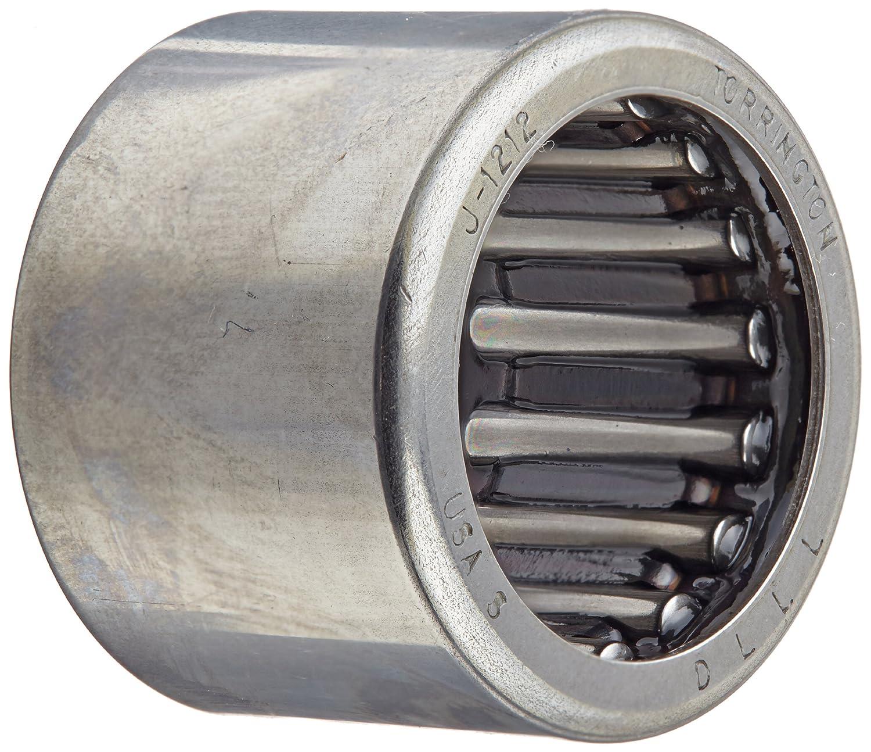 Inch 1 OD 2810lbf Dynamic Load Capacity 3//4 ID 5//8 Width 18000rpm Maximum Rotational Speed Open Steel Cage 3670lbf Static Load Capacity Koyo J-1210 Needle Roller Bearingd Drawn Cup
