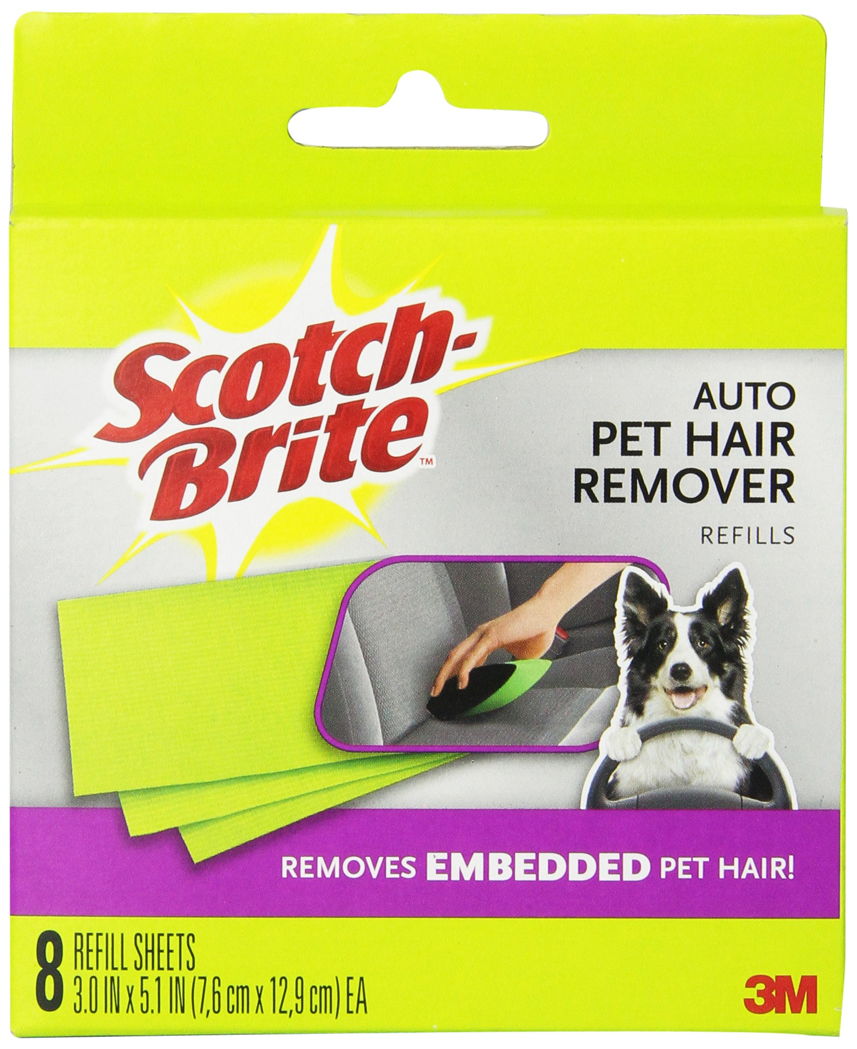 Scotch Fur Fighter Pet Hair Remover Refill (879RF-8)