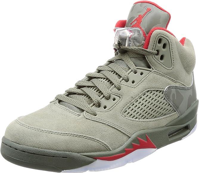 Jordan Air V (5) Retro (Camo)   Basketball