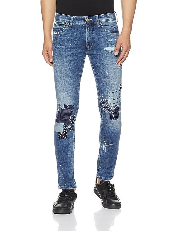 Jack & Jones Men's Glen Slim fit Jeans Men's Jeans at amazon