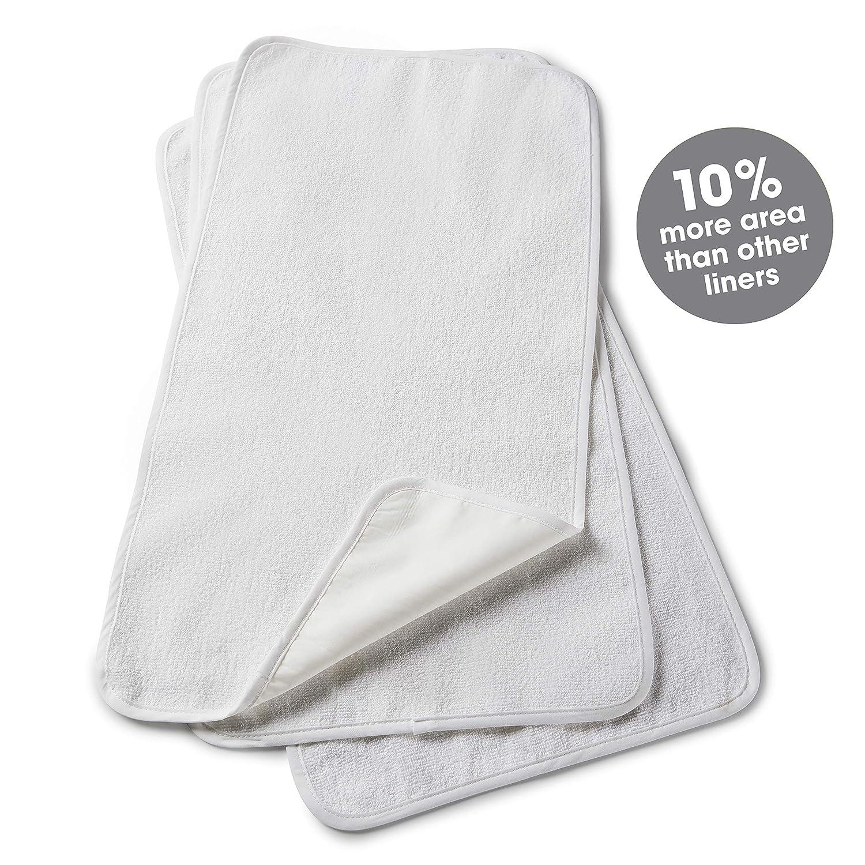 Amazon.com: Revestimiento impermeable para cambiador de bebé ...