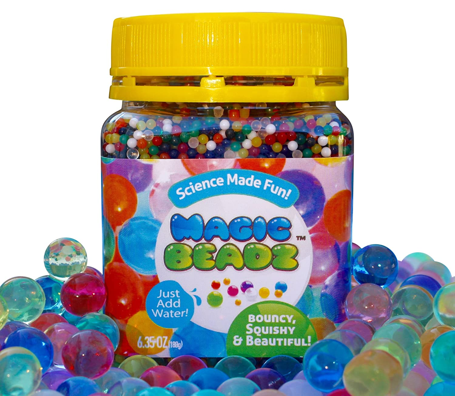 Magic Beadz - Crystal Jelly Beads Grow in Water - Fun for All Ages MagicBeadz