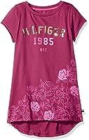 Tommy Hilfiger Girls' High Low Hem Fashion Tee