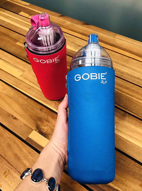 Gobie H2O BPA Free Filtered Water Bottle