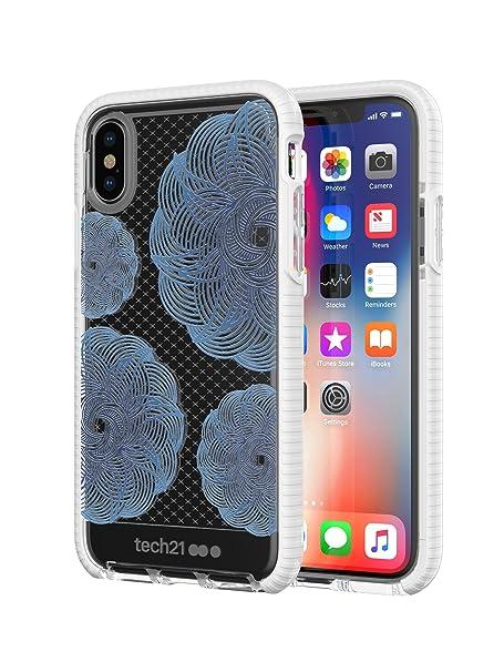 hot sale online f48f9 3a843 Evo Check Evoke Case for iPhone X - Clear/Blue