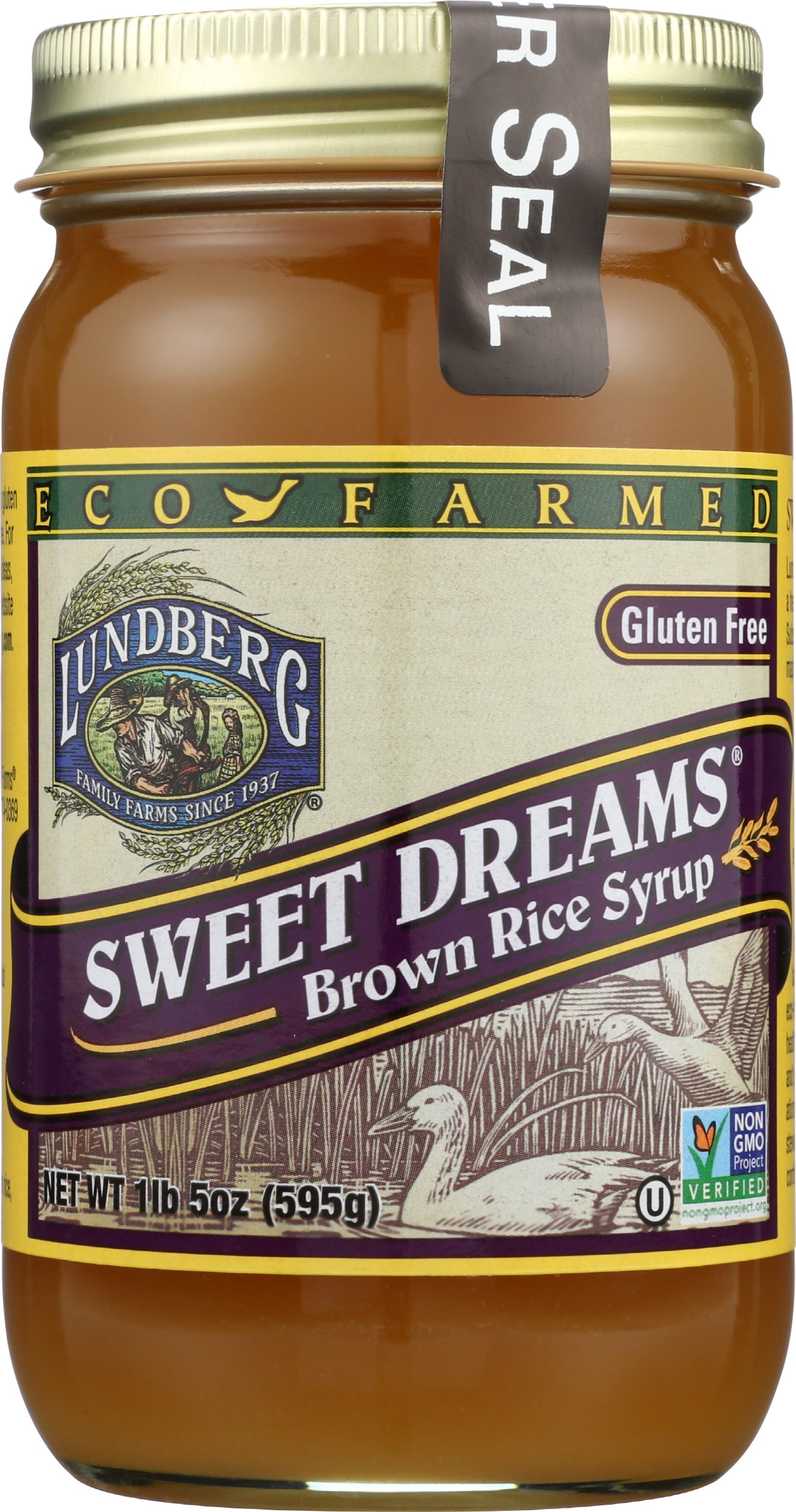 Lundberg Family Farms Sweet Dreams Brown Rice Syrup, 21 Ounce (Pack of 12)