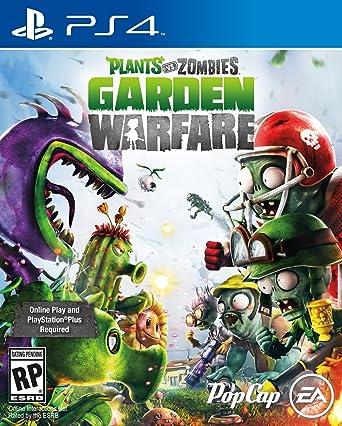 Amazon Com Electronic Arts Plants Vs Zombies Garden Warfare Ps4