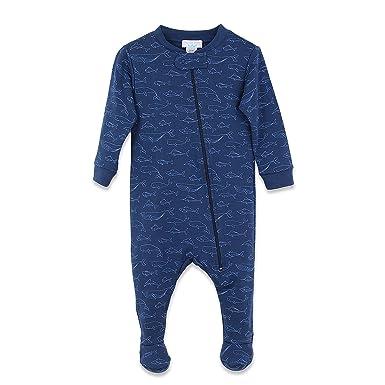 Amazon Com Feather Baby Boys Clothes Pima Cotton Long Sleeve Zipper