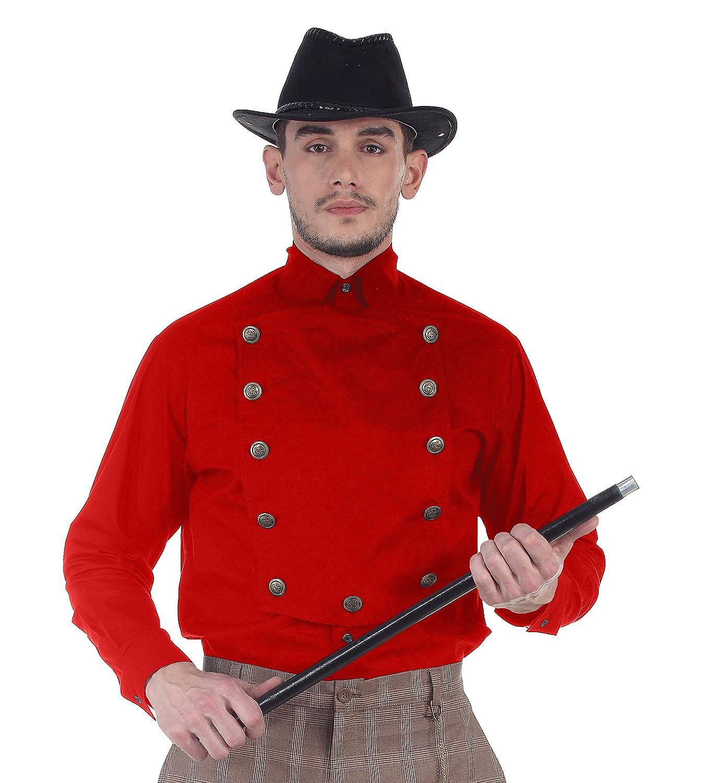 ThePirateDressing Steampunk Victorian Cosplay Costume Mens 100% Cotton Airship Shirt C1291 C1291-Parent
