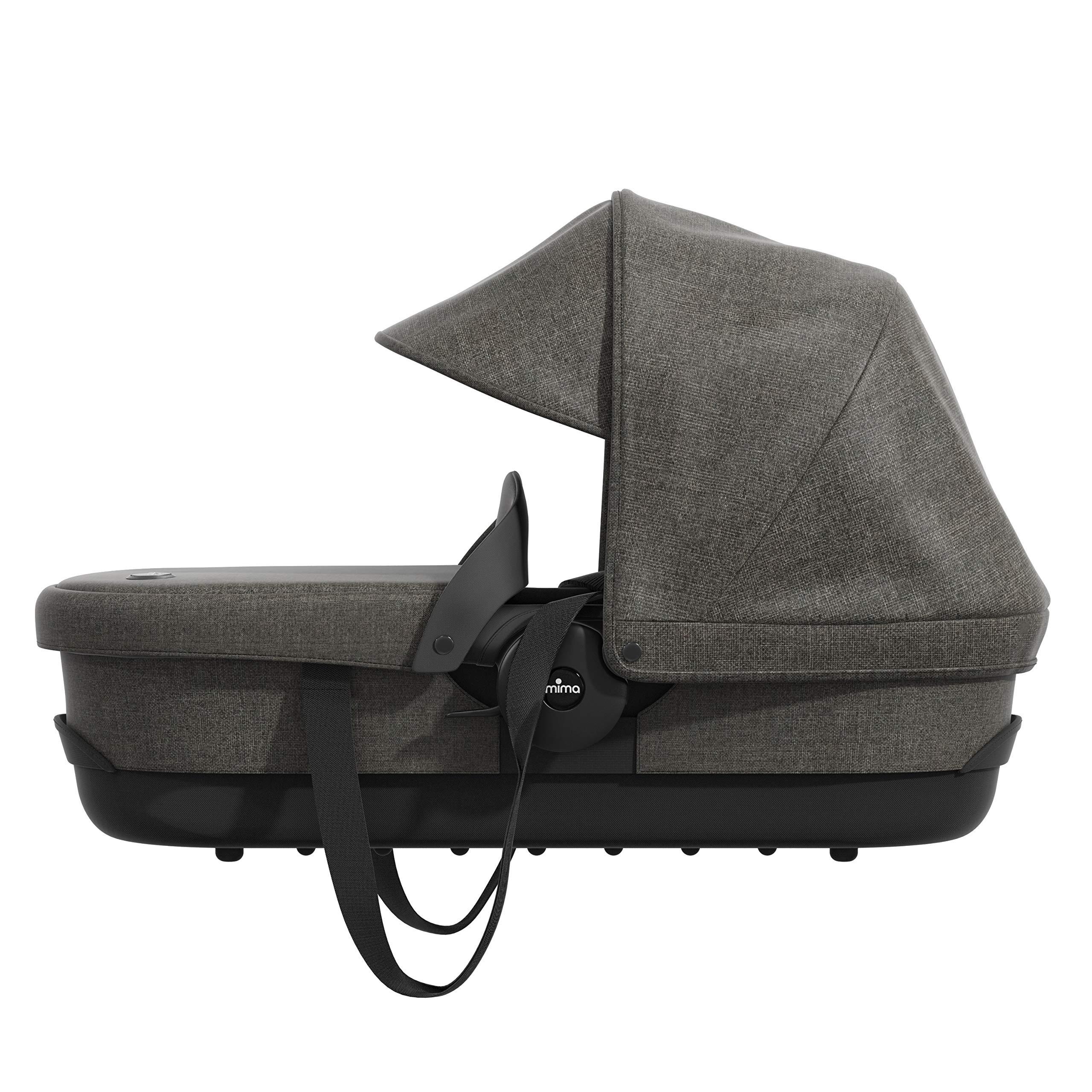 Mima Zigi Travel Carry Cot Charcoal
