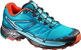 Salomon Women's Wings PRO 2 W Trail Runner, Jay/Fog