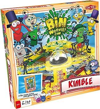 BinWeevils Kimble - Juego de Mesa, para 2 o más Jugadores (Tactic 41377) [Importado]: Amazon.es: Juguetes y juegos