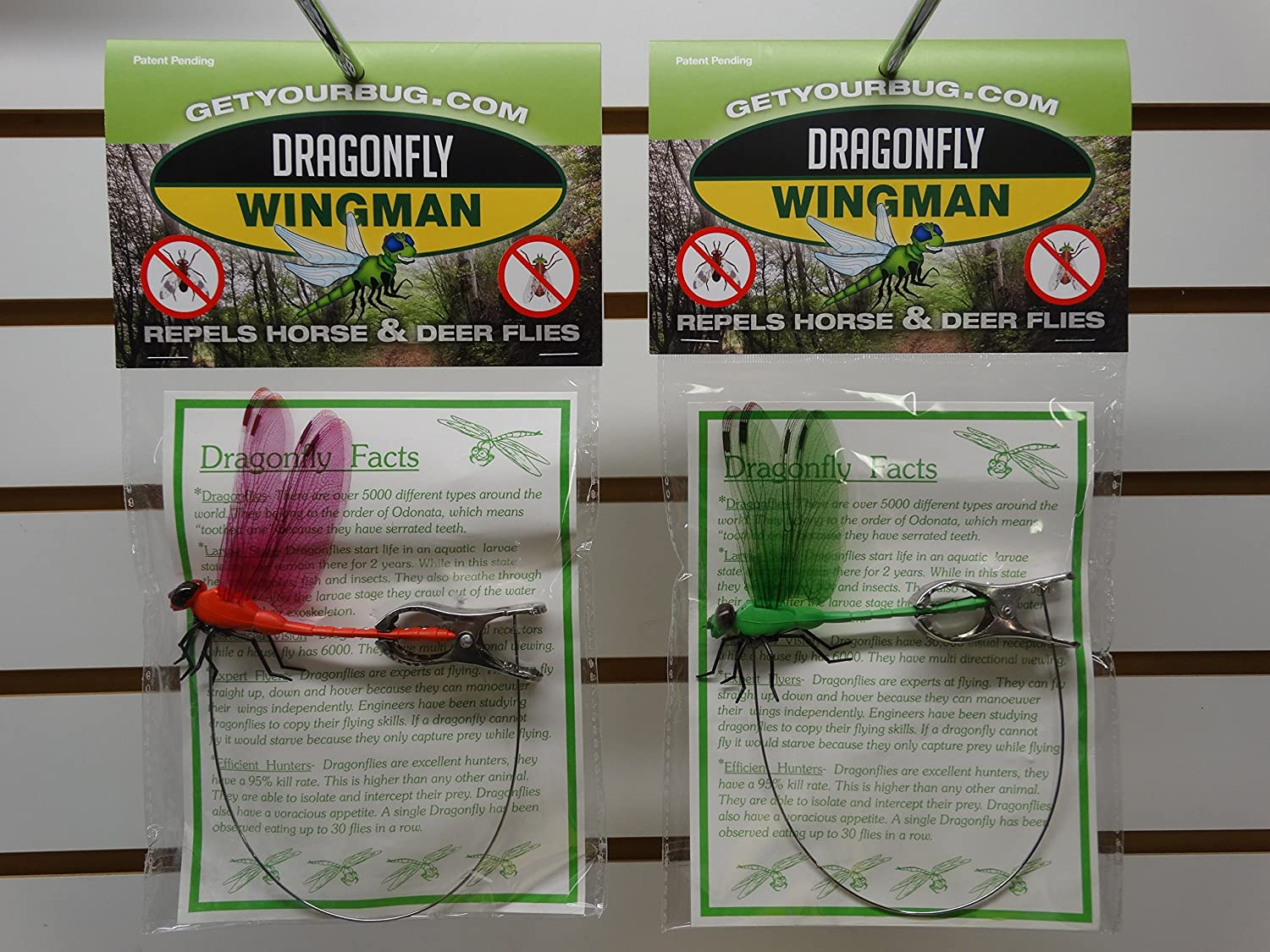 DRAGONFLY WINGMAN DEER AND HORSE FLY REPELLENT