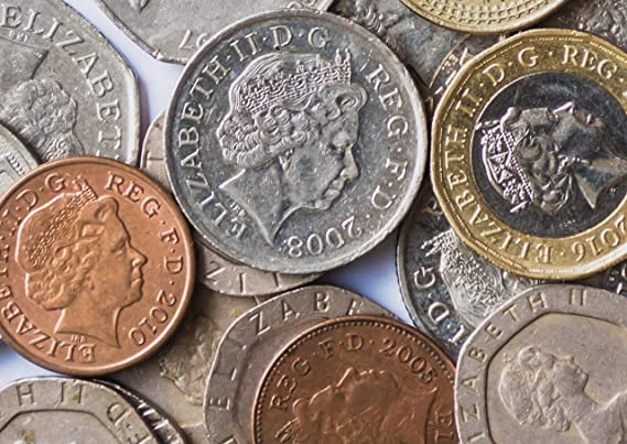 A1 Awesome British Cash Poster Print Size 60 x 90cm Currency Poster Gift #15919