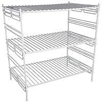 Grayline 40916 Large Adjustable Upper Cabinet Helper Shelf Deals