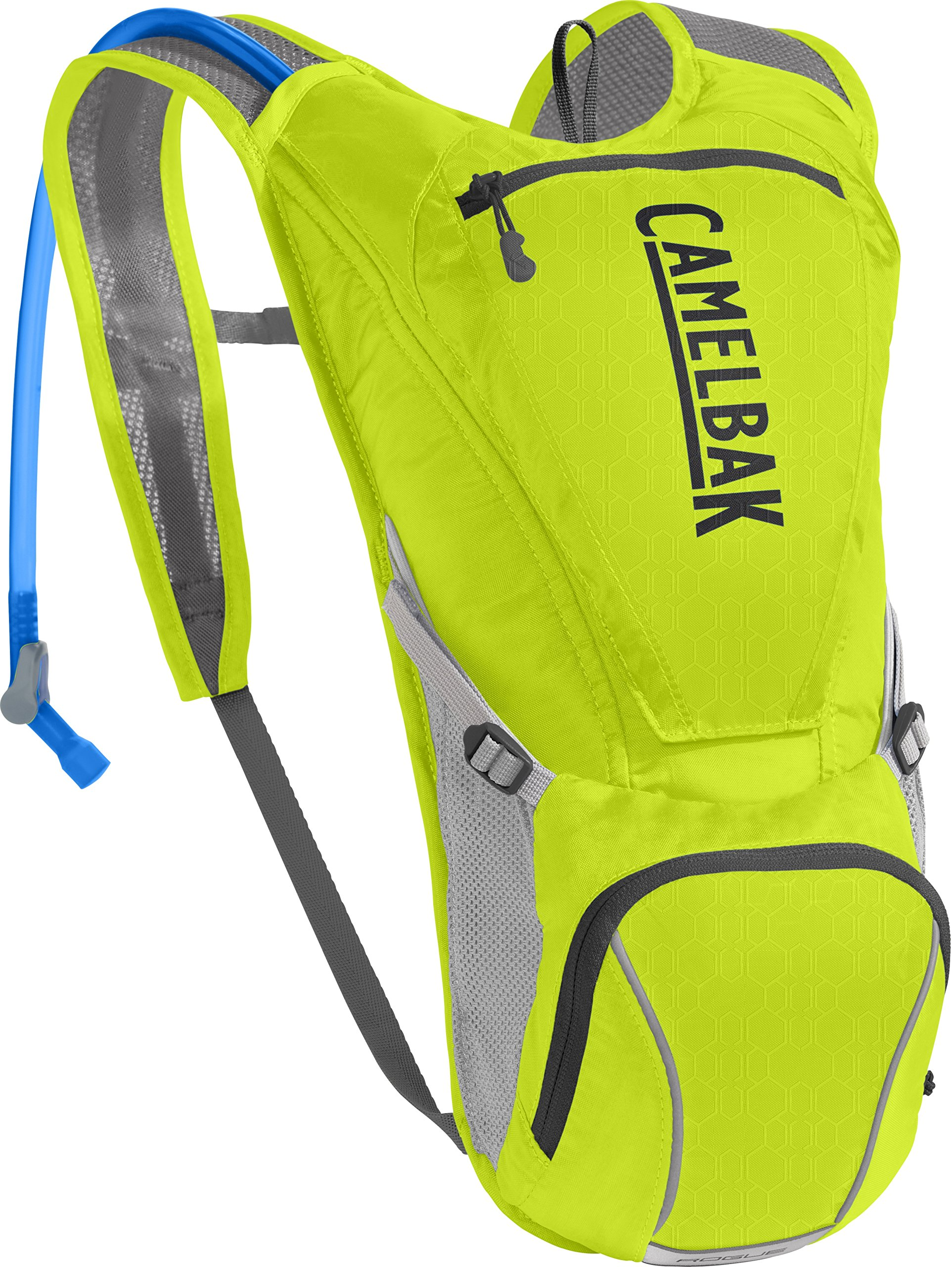 CamelBak Rogue Crux Reservoir Hydration Pack, Lime Punch/Silver, 2.5 Large/85 Oz by CamelBak