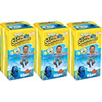 Huggies Little Swimmers Disposable Swim Diapers, X-Small (7lb-18lb.), (3 x 12 Pants)