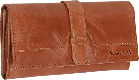 Ladies RFID Safe Designer Soft Leather Purse Card Women Clutch Wallet with Zip Pocket Gift Boxed