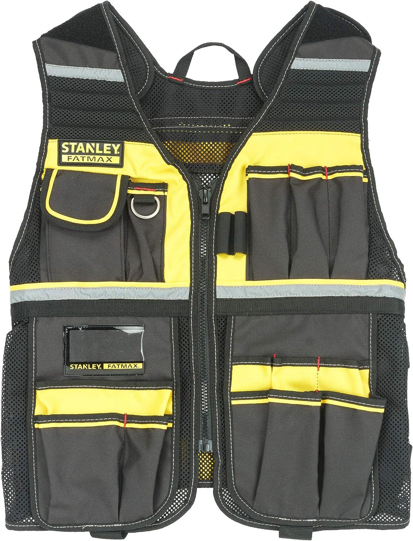 STANLEY FMST1-71181 - Chaleco porta herramientas: Amazon.es: Bricolaje y herramientas