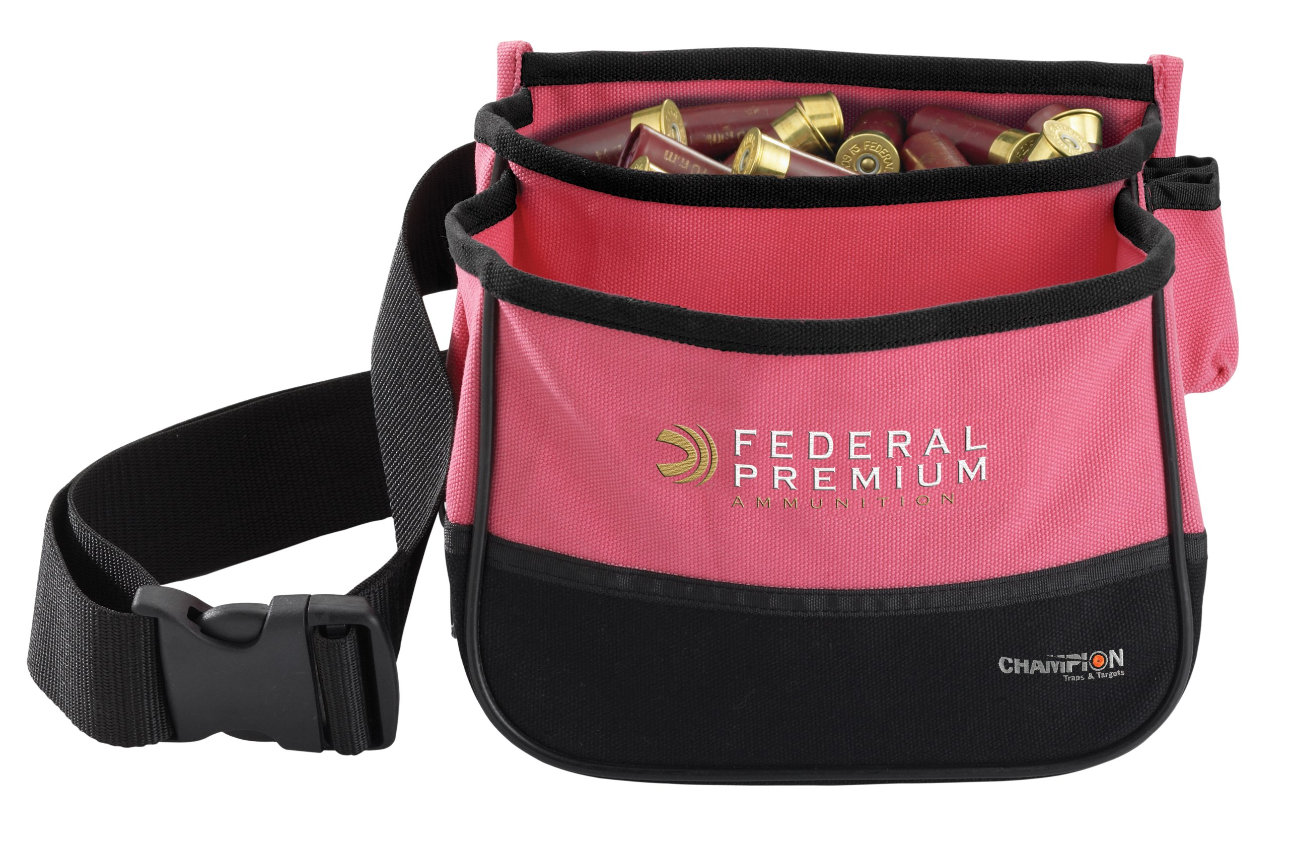 Champion Pink Double Box Shell Pouch by Champion Traps and Targets (Image #1)